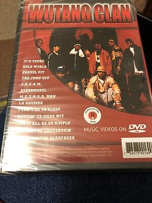 Wu-Tang Clan The Best Music Videos On (DVD) RAP RZA GZA RAEKWON GHOSTFACE (The Best Rap Videos)
