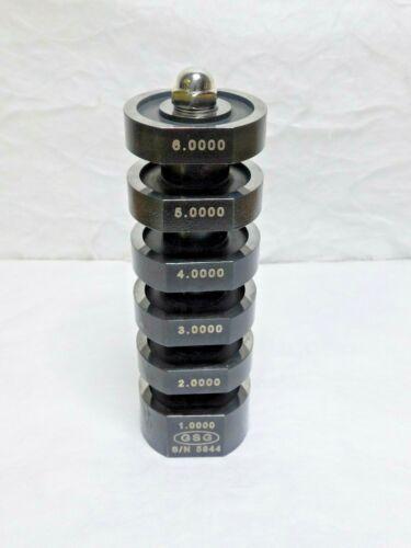 "GSG 1 to 6"" Caliper Calibration Master Accurate to 0.0002"" SUR400000"