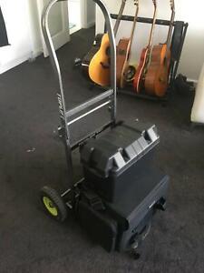Busking Set: Amp, Battery, Inverter, Trolley