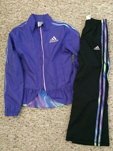 Adidas girls jacket and pants