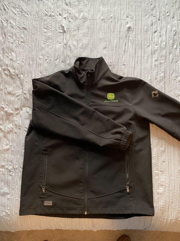 Dri Duck DDX Jacket, Black, John Deere Logo, Mens Large, Beautiful!