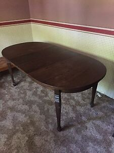 Wooden table - old and sturdy