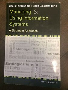 Managing & using information Systems 5E