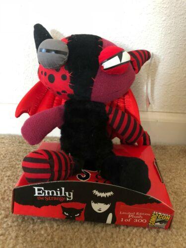Emily the Strange Jinx Kitty 12-Inch Plush Figure 2009 SDCC Exclusive