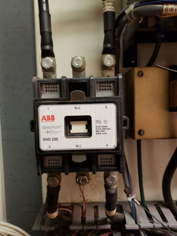 ABB Spectrum Contactor EHD220 600VDC 220A☆USED GREAT CONDITION FREE SHIPPING☆