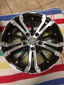 "16"" RTX aluminum alloys rims"