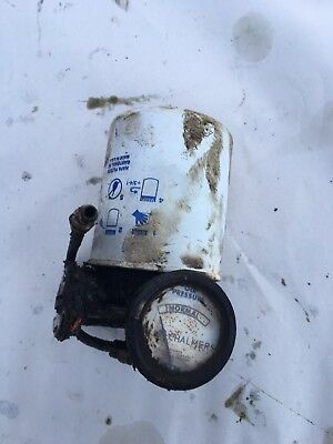 Allis Chalmers B C Ca Tractor Ac 1949 Oil Filter Mount.