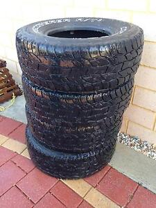 4 x Cooper Discoverer AT3 AT/3 LT 31x10.5 R15 tyres 4wd tires Bassendean Bassendean Area Preview