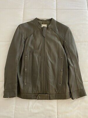 Diesel Mens Genuine Leather Jacket Small