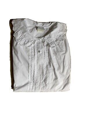 Laura Ashley Vintage White Shirt UK 14