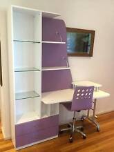 Purple Girl desk and chair. East Gosford Gosford Area Preview