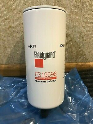 Genuine Oem Fuelwater Seperator Fleetguard Fs19596 Cummins 3954904 A041c888