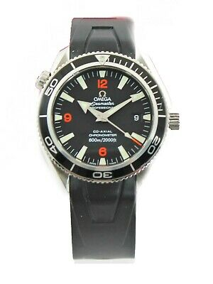 OMEGA SEAMASTER PLANET OCEAN 2901.51 AUTOMATIC CO-AXIAL ORANGE RUBBER WATCH