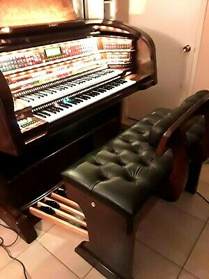 MINT CONDITION Lowrey MILLENIUM LIMITED EDITION electronic organ !!! (mahogany)