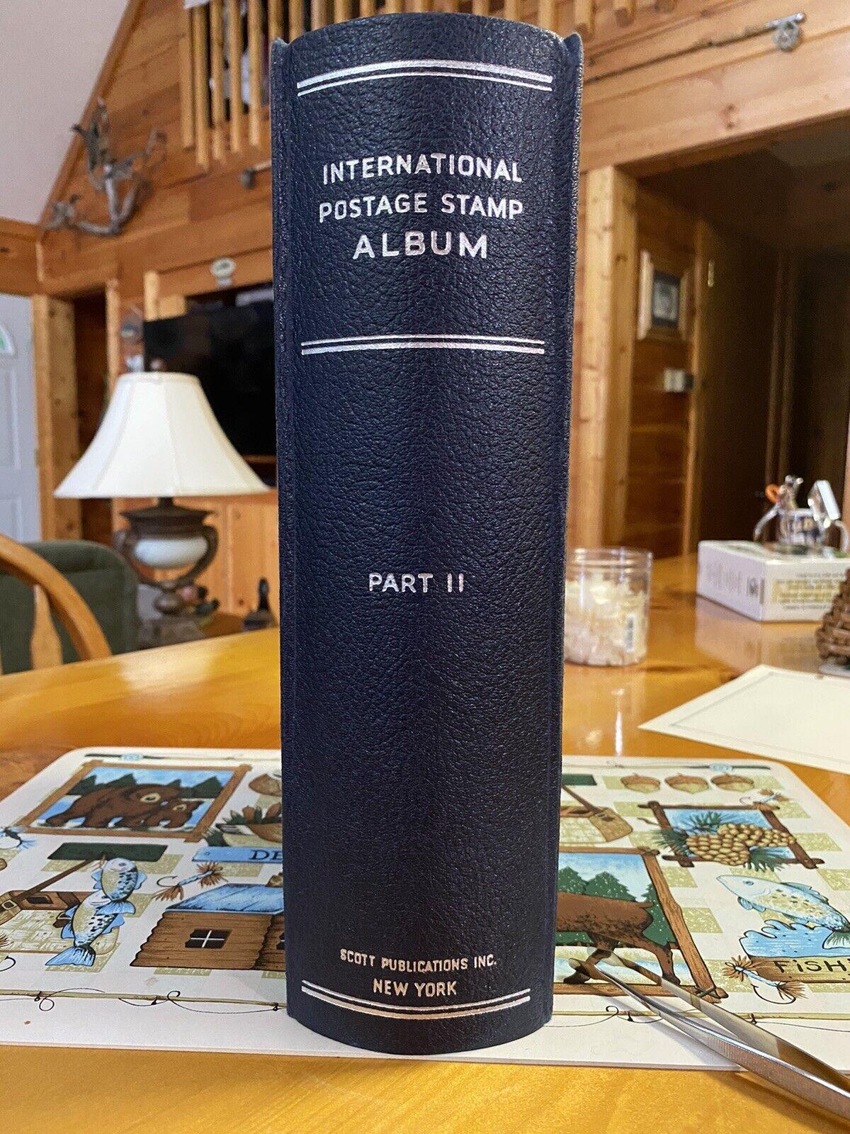 Scott s International Album Part II - A To Z, No U.S. - Pages, Binder Stamps - $69.99