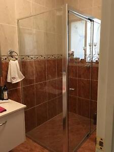 Semi frameless glass shower screen Annerley Brisbane South West Preview