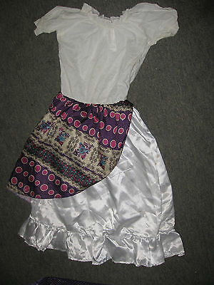 Good Costumes For Girls (Girls Gypsy Costume, Size 4-6, Good)