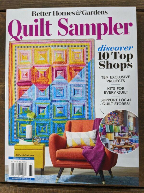 BH&G Quilt Sampler Magazine - Top 10 Shops - Spring/Summer 2021