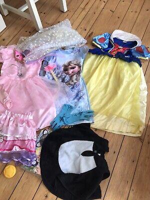 prinzessin kleid mädchen Kostüme Disney Frozen Kleiderpaket Gr. 120