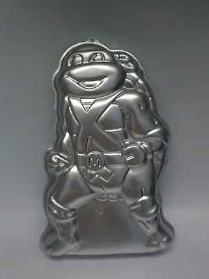 1989 Wilton Teenage Mutant Ninja Turtle Cake Pan 2105-3075 Vtg Mirage Studios