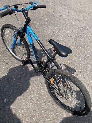 Boys Btwin Rockrider 500 24 Inch Wheel Mountain Bike Front Suspension