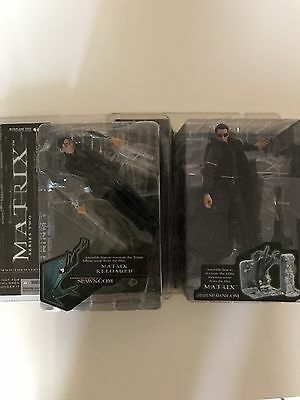 Matrix Neo & Trinity McFarlane Action Figures ()