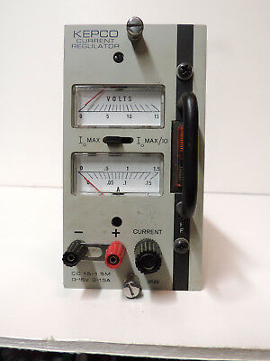 Kepco Cc15-1.5m Dc Variable Power Supply 15v 1.5a