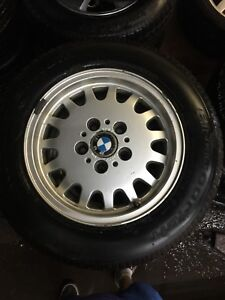 BMW winter tires 205/65/R15