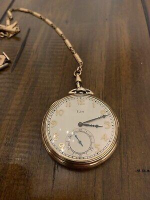 Elgin 10k Gold Pocket Watch