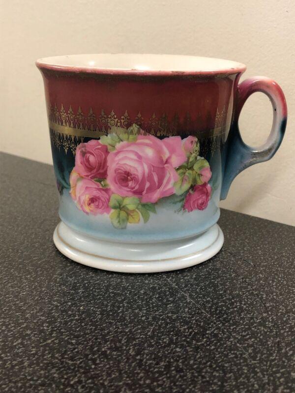 Antique Leuchtenburg Porcelain Shaving Mug
