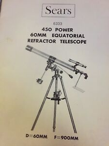 Great Condition Vintage Sears Telescope