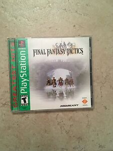 PS1 Final Fantasy Tactics