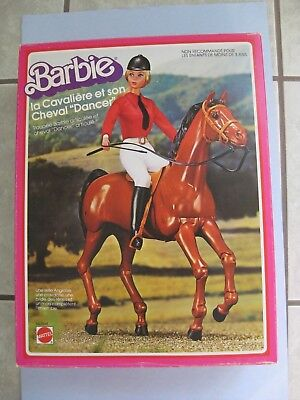 #9948 EQUESTRIENNE BARBIE & HORSE DANCER GIFT SET - foreign - Twist n Turn face