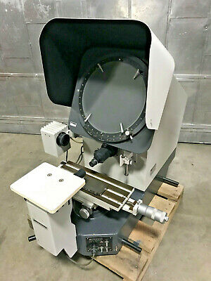 Mitutoyo Ph-350 Optical Comparator Profile Projector X50 Lenses Made In Japan