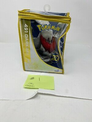 "NEW Pokemon Darkrai 491 20th Anniversary Exclusive Limited Edition TOMY 8"" Plush"