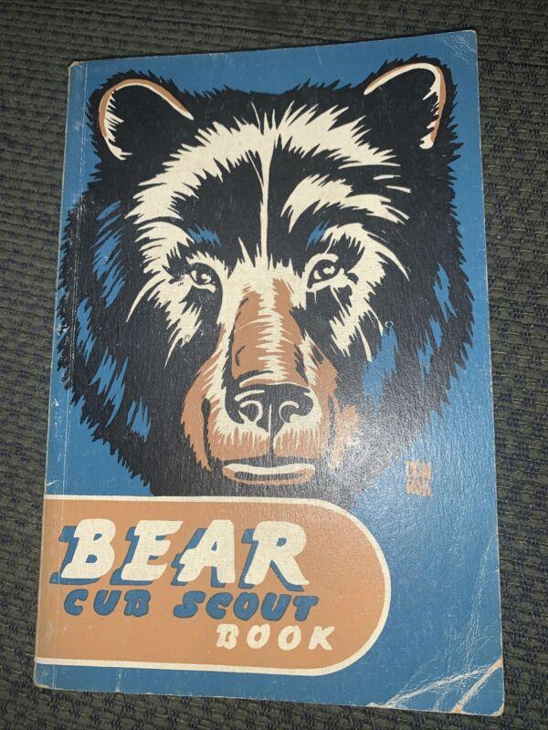 1948 Boy Scout Bear Cub Scout Book  BSA