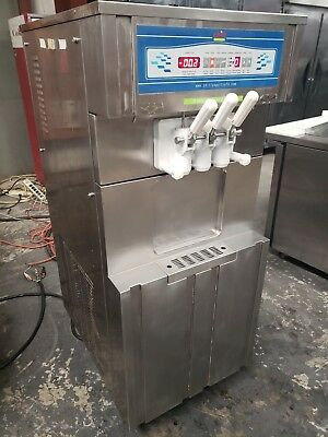 Used Oceanpower Op332c Soft Serve Ice Cream Frozen Yogurt Machine - 1 Phase