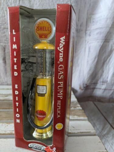Gearbox Shell Wayne gas pump replica toy 1996 village layout train new