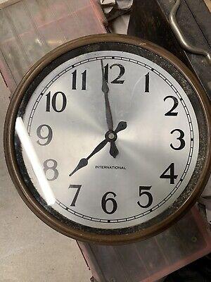 IBM International Slave Clock Dates To 1935