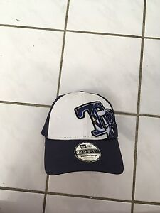 Brand new Tampa Bay Rays hat stretch fit size medium large