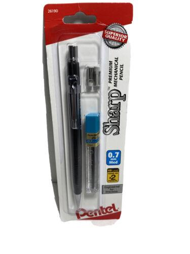 Metallic Barrels Pentel Sharp Mechanical Pencil Assorted Barrel Colors, 0.7mm