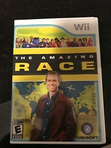 Wii Amazing race game