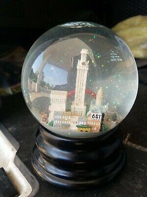 Saks Fifth Avenue Austin snow globe glass bat Deep in the Heart of Texas music
