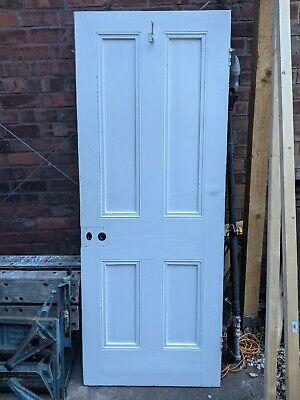 Reclaimed 4 panel pine doors.