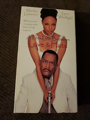 WOW! A Thin Line Between Love and Hate VHS Martin Lawrence WOW!