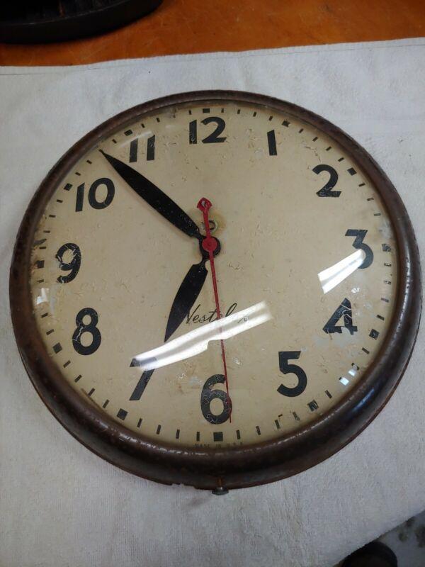 Vintage Westclox Wall Clock