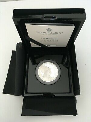 The Britannia 2021 UK Premium Exclusive Two-Ounce Silver Proof Coin