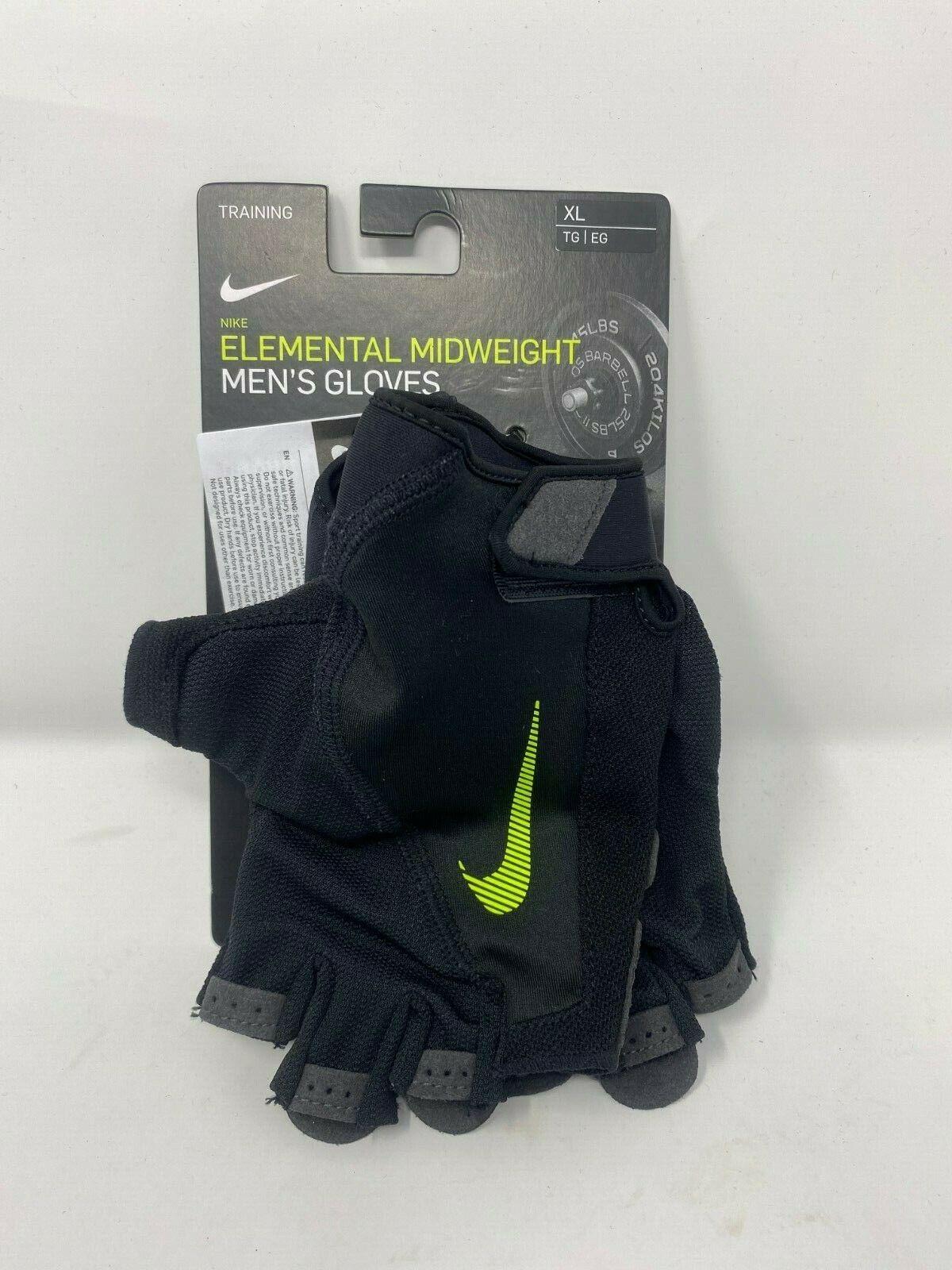 Nike Elemental Midweight Training Gloves Men's New Sz S, L,