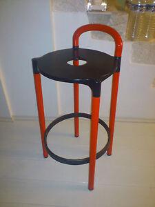 fauteuil tabouret castelli vintage ann es 70 design italien ebay. Black Bedroom Furniture Sets. Home Design Ideas