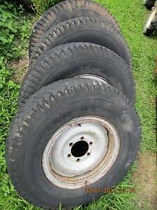 rims 7.50 x 16  4 of patrol landcruiser pajero etc6 stud $80  lot Babinda Cairns Surrounds Preview
